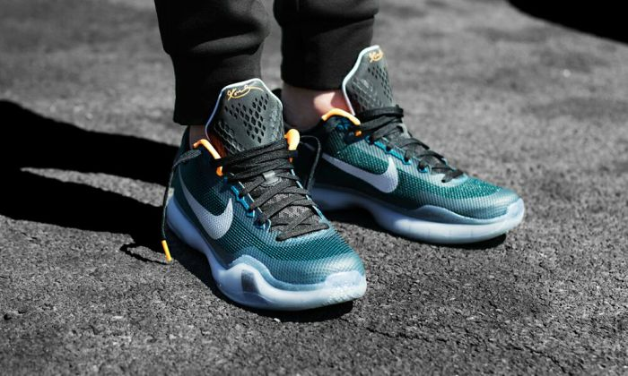 "Kobe 10 ""Flight"" on Feet  0a9f3a01a9"
