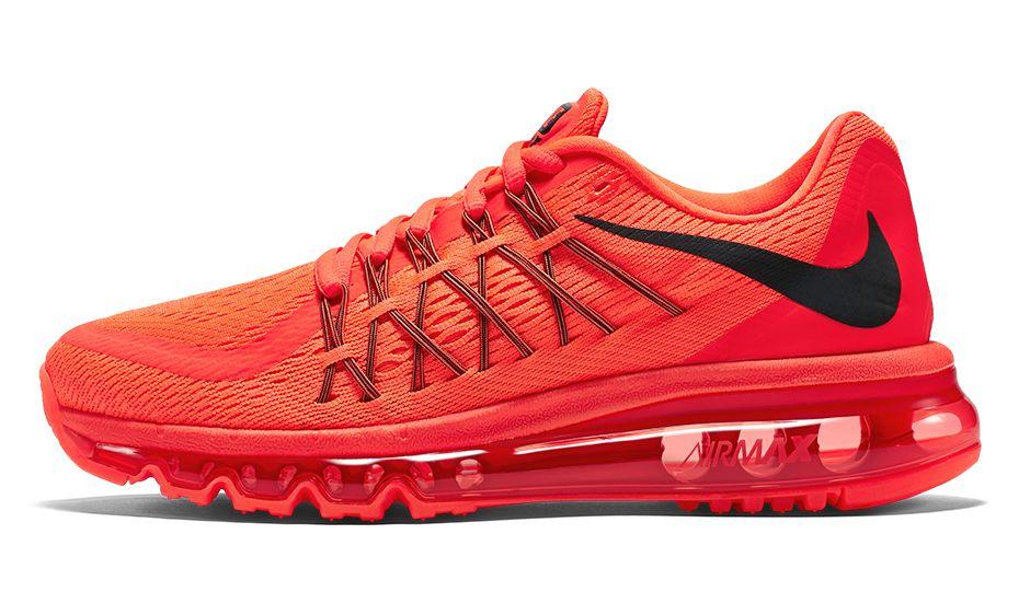 e979f1f30c Women's Nike Air Max 2015 Anniversary Pack Bright Crimson/Bright Crimson  726454-600