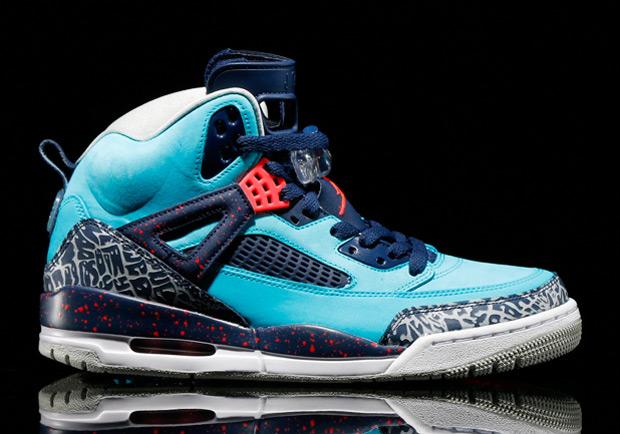 "f88b3c2d770 Jordan Spizike ""Turquoise Blue""   Sneaker Champloo"