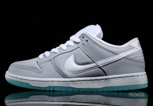 low priced e2afd ff56b ... new zealand nike sb dunk low marty mcfly2 1849d 1cc91 discount nike sb  dunk low premium u201emarty mcfly wolf grey white hhv ...